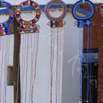 Colliers de mariage massaïs - KENYA