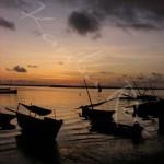 Lever de soleil - Lamu - KENYA