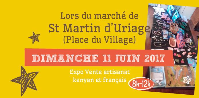 Marché de Saint Martin d'Uriage